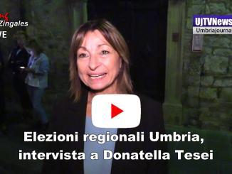 Elezioni Umbria, Gubbio intervista alla candidata Tesei