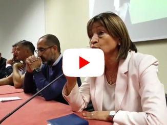 Elezioni Umbria, Donatella Tesei a Umbriafiere di Bastia Umbra