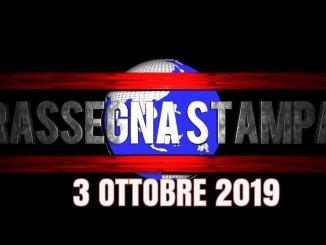 Rassegna stampa dell'Umbria 3 ottobre 2019 UjTV News24 LIVE