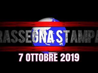 Rassegna stampa dell'Umbria 7 ottobre 2019 UjTV News24 LIVE