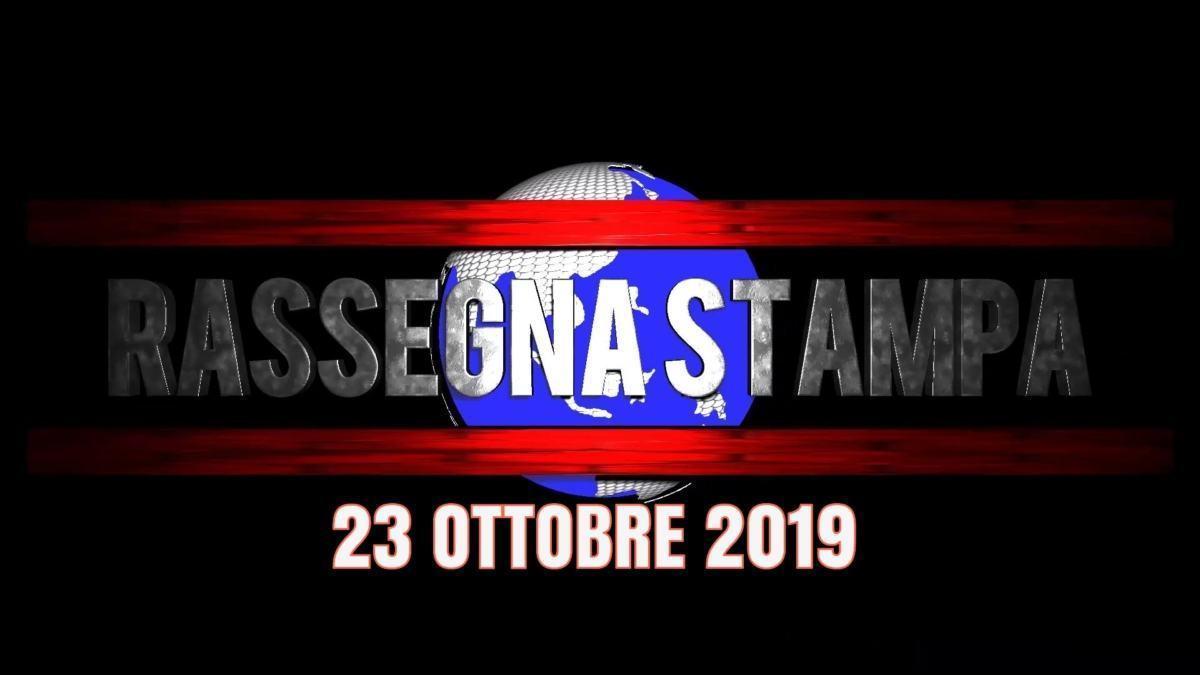 Rassegna stampa dell'Umbria 23 ottobre 2019 UjTV News24 LIVE