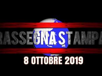 Rassegna stampa dell'Umbria 8 ottobre 2019 UjTV News24 LIVE