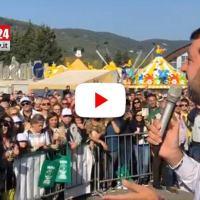 LIVE 🔴 Matteo Salvini oggi di nuovo in Umbria, video da Pian di Massiano