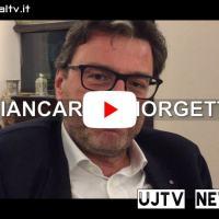 Elezioni regionali, Giancarlo Giorgetti in Umbria per Tesei