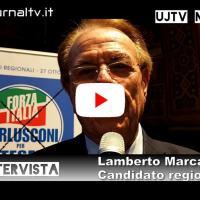 Lamberto Marcantonini candidato alle regionali dell'Umbria, intervista