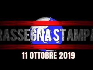Rassegna stampa dell'Umbria 11 ottobre 2019 UjTV News24 LIVE