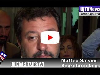 Matteo Salvini visita Carcere di Capanne: «Perugia non è una discarica»