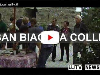 Festa di San Biagio a Colle, terra di mezzo, olio nuovo dame e cavalieri