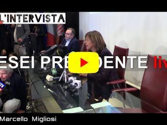 Elezioni regionali, il primo discorso della neo presidente Tesei
