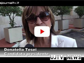 Elezioni Umbria, Tesei, noi unica alternativa a civico che nasconde Pd-M5s