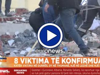 Terrificante terremoto in Albania, prima scossa 6,5, ci sono vittime |LIVE