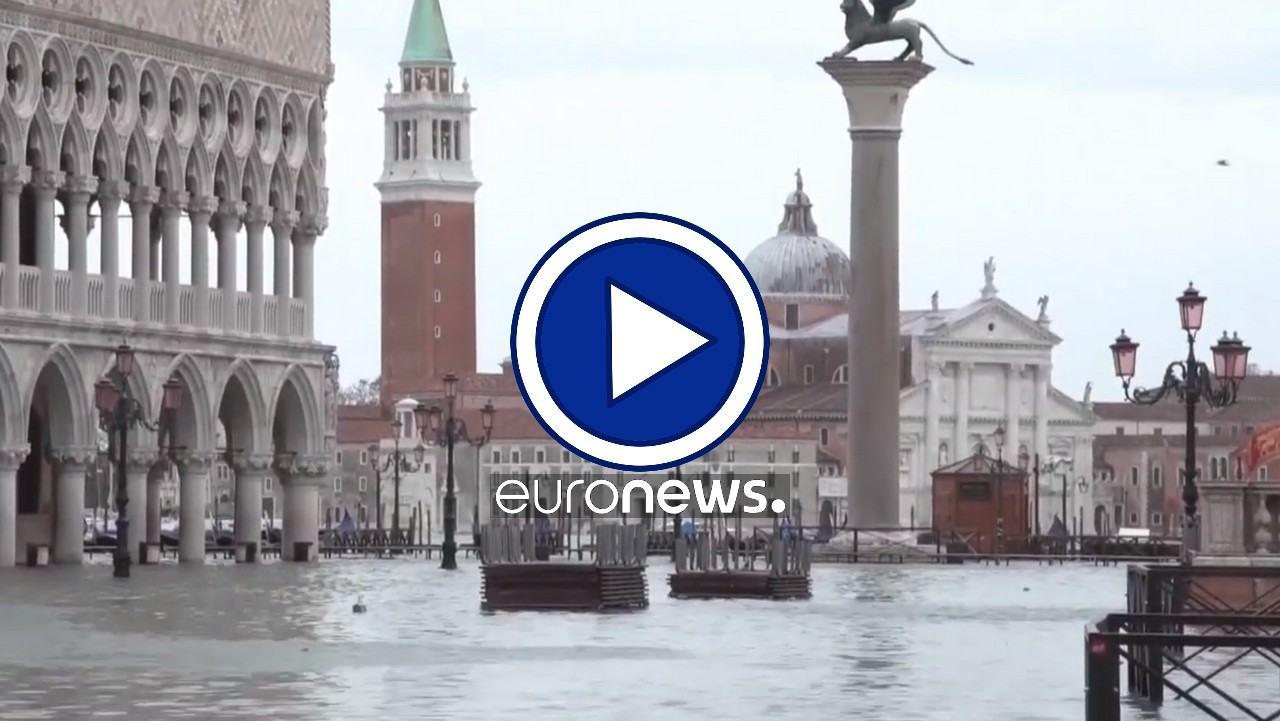 Com'è oggi Venezia allagata, la Serenissima rischia di perdere posto nell'Unesco