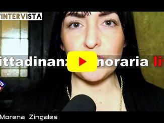 Cittadinanza onoraria a Liliana Segre, intervista a Sarah Bistocchi