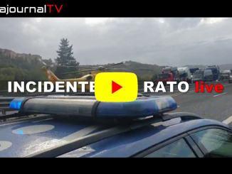 Incidente su raccordo Terni-Orte, golf si ribalta, ferito dipendente autostrade
