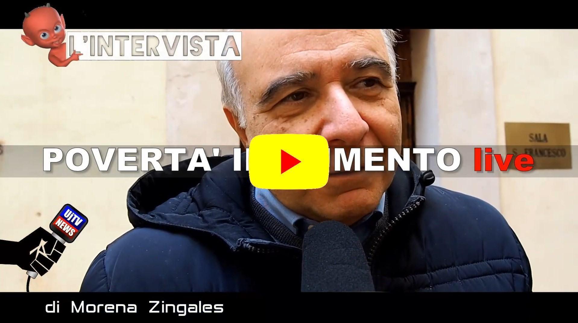 Oltre 50 mila famiglie in povertà, intervista a Marcello Rinaldi, Caritas