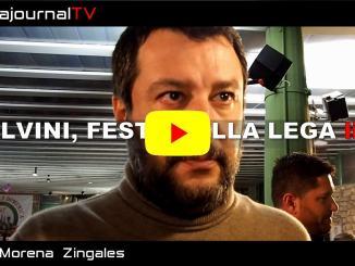 Salvini a Perugia, ringrazia gli umbri alla Festa della Lega