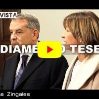 Donatella Tesei si è insediata, intervista alla Presidente dell'Umbria
