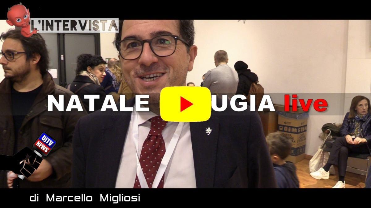 Si accende il Natale a Perugia, intervista a Francesco Gatti del Post
