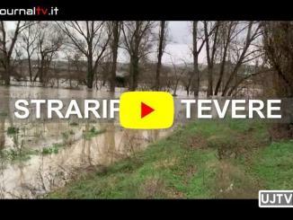 Causa maltempo, le acque del Tevere sono straripate dal letto del fiume