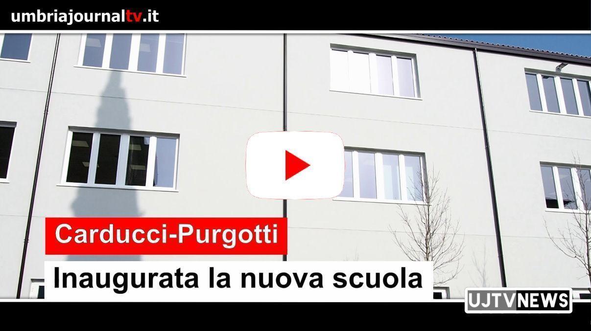 """Inaugurata la nuova scuola """"Carducci-Purgotti"""""""
