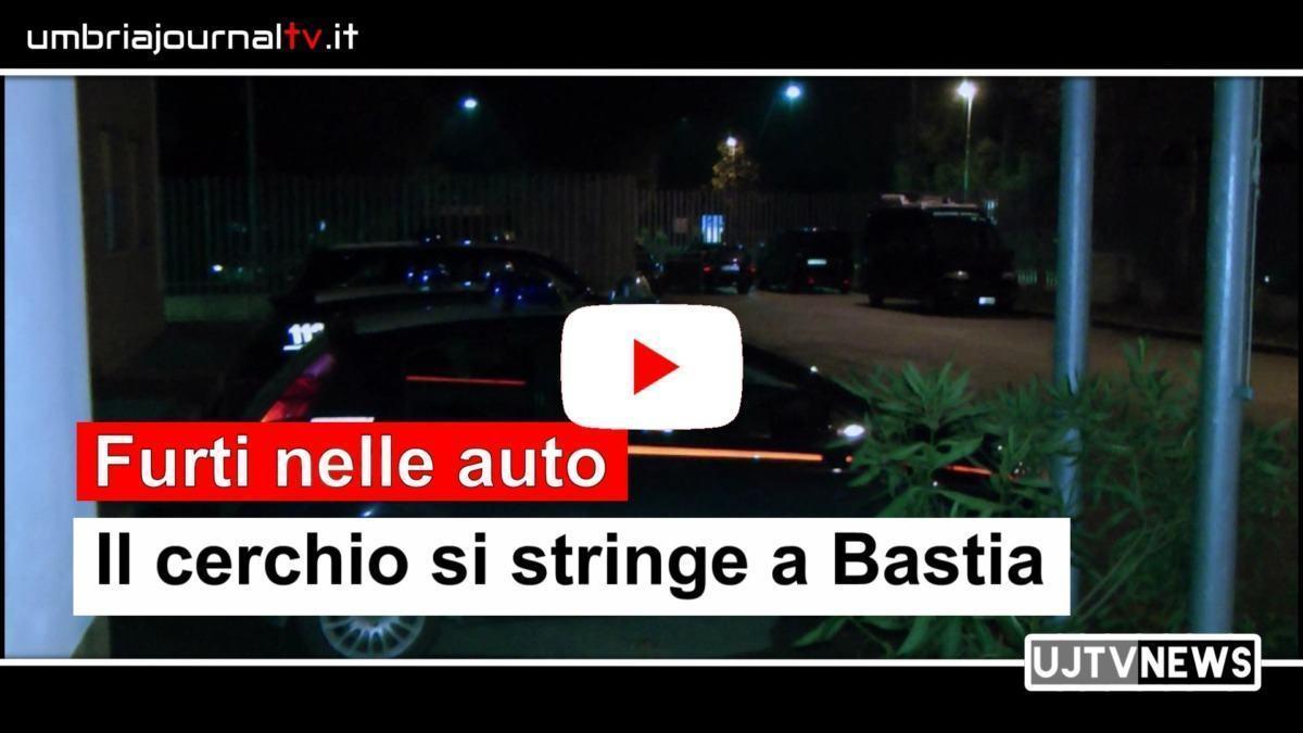 Furti nelle auto, si stringe il cerchio a Bastia Umbra, solo un indiziato