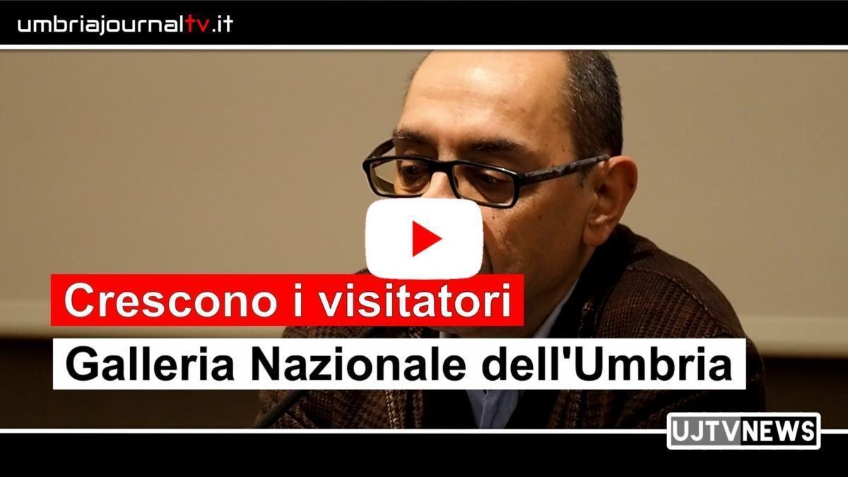 Galleria Nazionale dell'Umbria, crescono i visitatori nel 2019