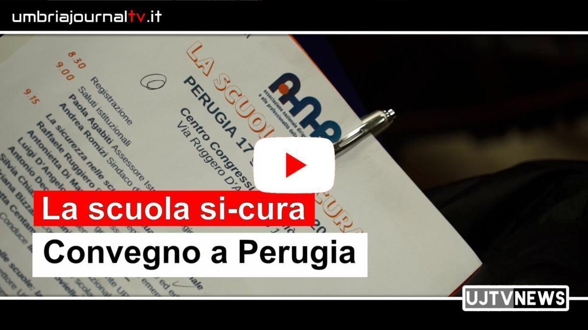 La scuola si-cura, convegno a Perugia, c'era anche il viceministro Anna Ascani