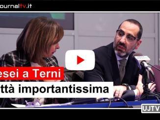 Ricominciamo a parlare di Umbria, presidente Tesei a Terni