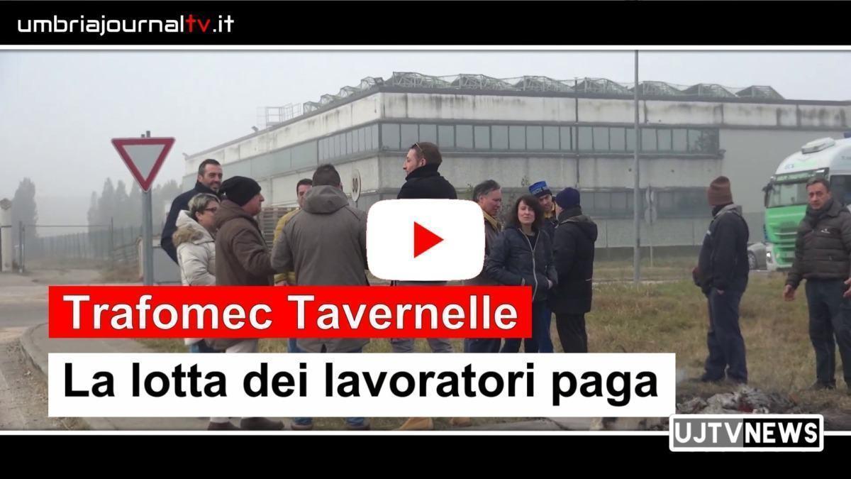 Trafomec Tarvernelle, la lotta dei lavoratori paga!