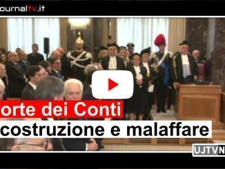 Inaugurazione Corte dei Conti, Avoli, stigmatizza ritardi su ricostruzione post sisma