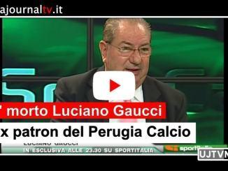 Morto Luciano Gaucci, ex patron del Perugia calcio