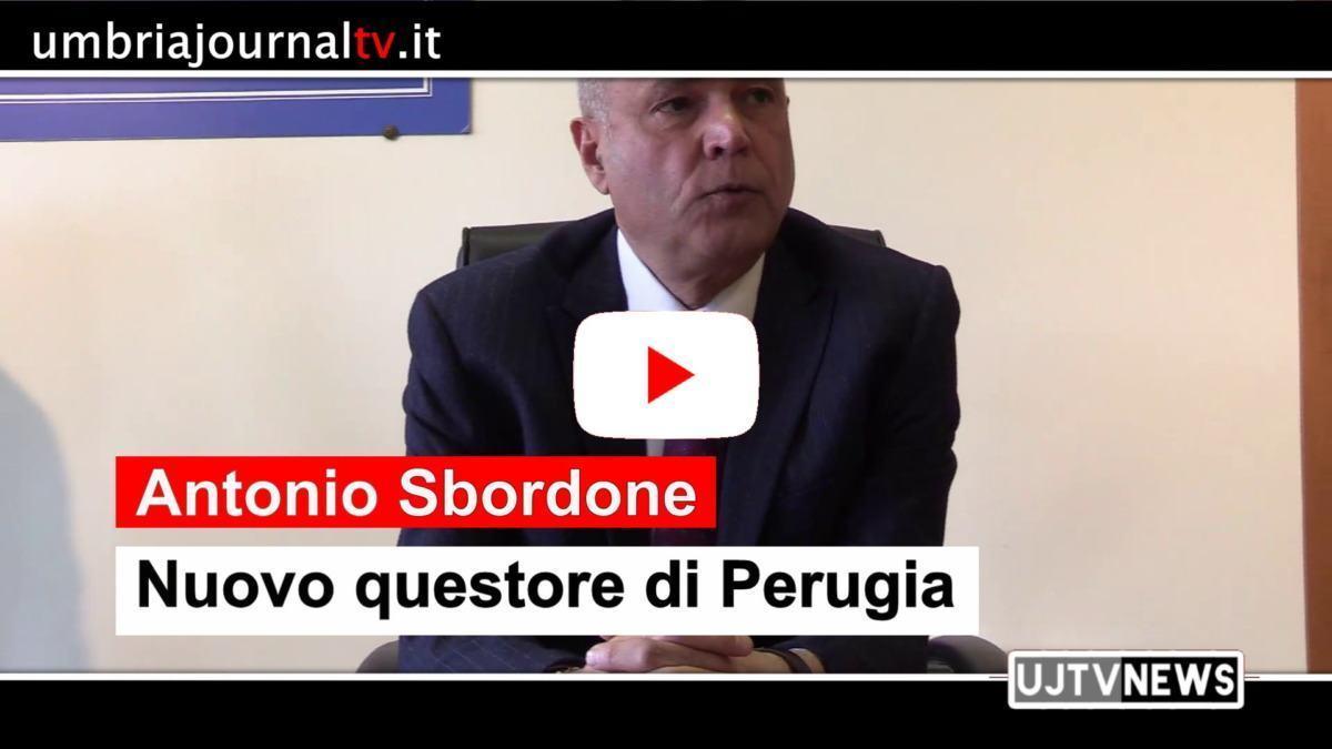 Nuovo Questore di Perugia, Antonio Sbordone, le sue prime parole