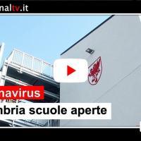 Coronavirus, le scuole in Umbria resteranno aperte