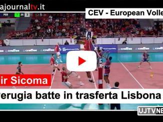 Sir Sicoma, Perugia batte in trasferta Lisbona e ingrana la quinta