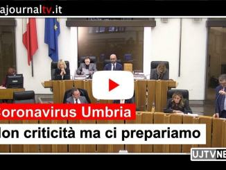 Coronavirus Umbria, Coletto, non criticità ma ci prepariamo