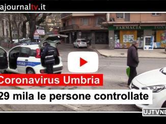 Coronavirus Umbria, 29 mila le persone controllate in provincia di Perugia