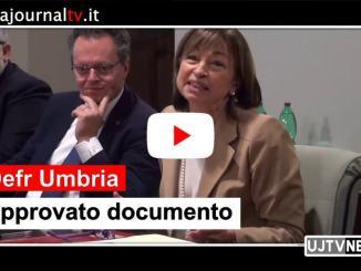Approvato Defr Umbria, Tesei, invarianza fiscale e fondi orientati alla crescita