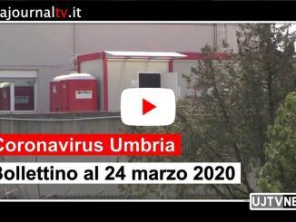 Coronavirus Umbria, bollettino del 24 marzo 2020