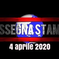 La rassegna stampa del mattino sabato 4 aprile 2020