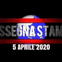 Prime di copertina rassegna stampa di domenica 5 aprile 2020
