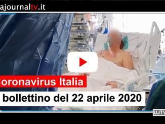 Coronavirus in Italia, quasi 3000 guariti nella giornata del 22 aprile