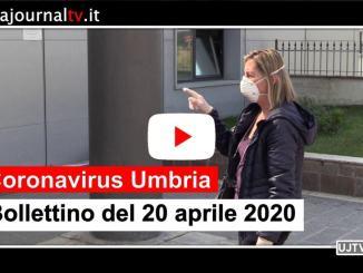 Coronavirus Umbria, al 20 aprile 55 guariti in più, calano attuali positivi