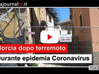 Norcia dopo il terremoto e durante il coronavirus