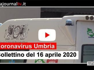 Coronavirus in Umbria, 16 aprile, guarite 448 persone, più 78 rispetto a ieri