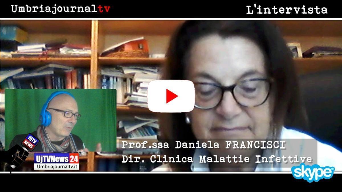 Isolato a Perugia virus Covid intervista professoressa Daniela Francisci
