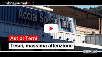 """Ast Terni, presidente Tesei: """"Massima attenzione da parte Regione su futuro sito"""""""