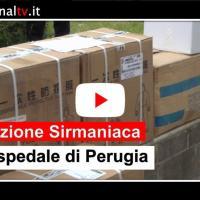 """Donazione """"Sirmaniaca"""" all'ospedale di Perugia"""