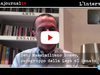 Alessandra Valentini intervista il Senatore della Lega, Massimiliano Romeo