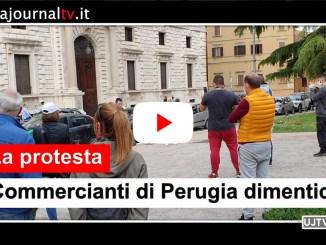 Commercianti di Perugia dimenticati dallo Stato, tante promesse