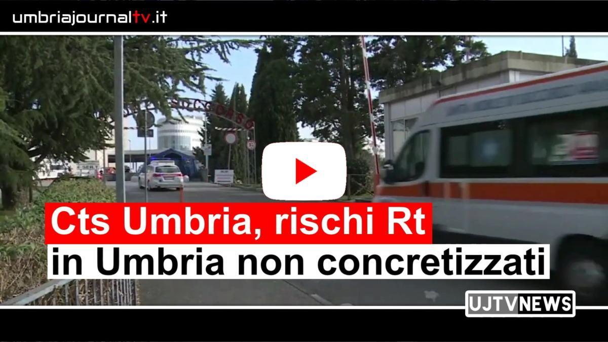 Cts Umbria, rischi Rt non concretizzati, quadro epidemiologico non preoccupante
